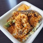 天丼てんや - 野菜天丼弁当+タラの芽