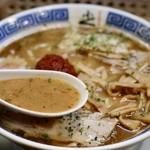 からみそラーメン ふくろう - やさしい味噌スープ