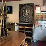 らー麺屋 バリバリジョニー - カウンター席の角。