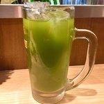 晩杯屋 - 緑茶割り
