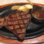 カウボーイ家族 - カウボーイアンガスビーフステーキ(200g)(¥1920)