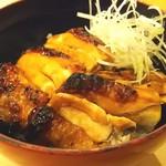 赤城鶏照焼き丼ランチ
