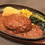 上州牛ハンバーグステーキ 180g