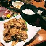 三嶋和食わ - 若鶏の唐揚げ膳 1,000円税抜