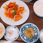 成都 - 上海風酢豚炒め ¥6001