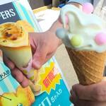 ホイッパーズ - 料理写真:ブリュレとコーン♡