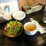 ビアオステリア 籠女 - 1日分量の野菜が摂れるカレー1,000円
