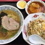 天雅 - ラーメンセット 750円