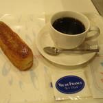ヴィ・ド・フランス - カラメルチーズバー+ドルンクのセット
