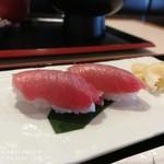 横濱屋本舗食堂 - 生本鮪中トロ握り
