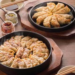 名物!「鉄鍋餃子」