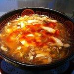 Haihaitenzankaku - 杯杯 天山閣 (ピリ辛黒酢味)サンラータン麺