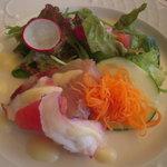 カフェテラス・ド・パリ - ブリと蛸のサラダ