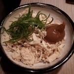 83930679 - 鶏のささみ梅肉和え