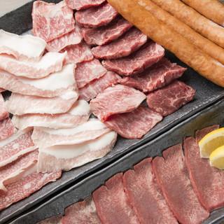 【お得感満載!!】お肉の盛り合わせ3種類ご用意♪