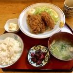 83933611 - 生カキフライ定食1000円