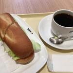 ドトールコーヒーショップ - ミラノセット 600円