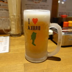 名鉄 太田川駅前 大衆酒場 サンヂカラ