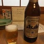 83936020 - 【'18.4】久々の瓶ビール