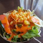 ヒマラヤインドレストラン - サラダ。