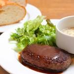 Chapeau Melon - ハンバーグ・サラダ・スープセット