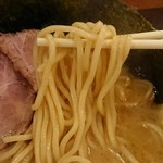 ラーメンストップ ボン - 麺(2018.04)