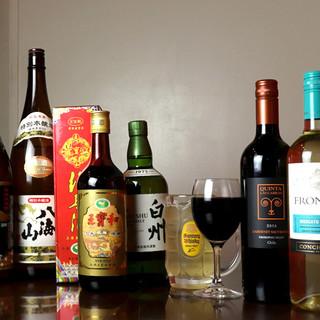 中華のお供には…やっぱり紹興酒!充実のラインナップをご用意◎