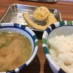 天ぷらの山 - ・天ぷら定食
