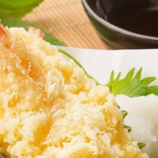 揚げたての天ぷらをカジュアルに