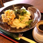 Arashiyamatei - 桜海老のかき揚げうどん 980円