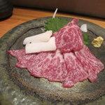 好信楽 西中洲 - 料理写真:馬刺し