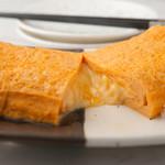とろ~りチーズのだし巻き卵