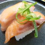 回転寿司喜楽 - サーモン