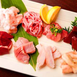 【ホルモン満喫】もつ鍋も楽しむ飲み放題付コース5000円