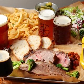 本場の味、テキサスバーベキュー料理&クラフトビール