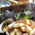 リアルダイニングカフェ - チーズフォンデュランチ♪
