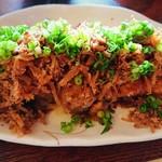 喫茶七彩館 - 料理写真:チキン味噌の生姜焼き