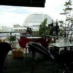 リアルダイニングカフェ - 窓ぎわの風景♪