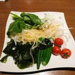 湯あがりキッチン 一休 - 料理写真:2018年3月 お野菜ビュッフェ(食事セット) 463円+税