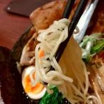 83944278 - 【2018.4.10(火)】空海特製そば(並盛・180g)1,320円の麺