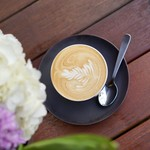 シングル オー ジャパン - サービスコーヒーはカプチーノをいただきました。