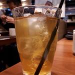 とんかつ 神楽坂 さくら - ジャスミン茶