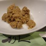 牛たん炭焼 利久 - レバーの前菜