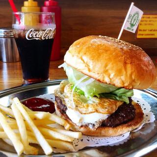 ハニービー - ハンバーガー。