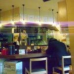 麺屋 勝道 - カウンター