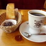 コメダ珈琲店 - 料理写真:コメ黒とモーニングC