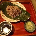寿美久 - 「朴葉蕎麦 880円」