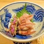 和彩温 - ホタルイカ酢味噌和え(750円)