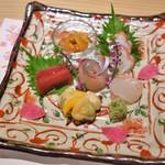 和彩温 - お造り盛り合わせ(2600円)
