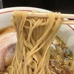 らーめん颯人 - 平打ちストレート麺٩( 'ω、' )وあっぷ.。.:*・゜゚・*